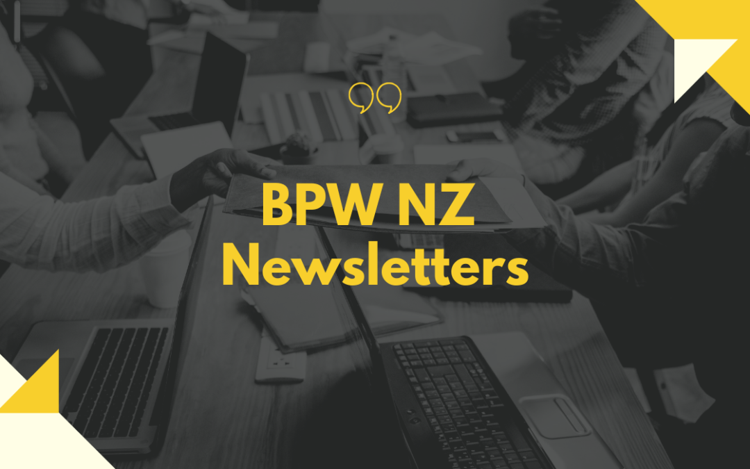 BPW NZ Newsletters